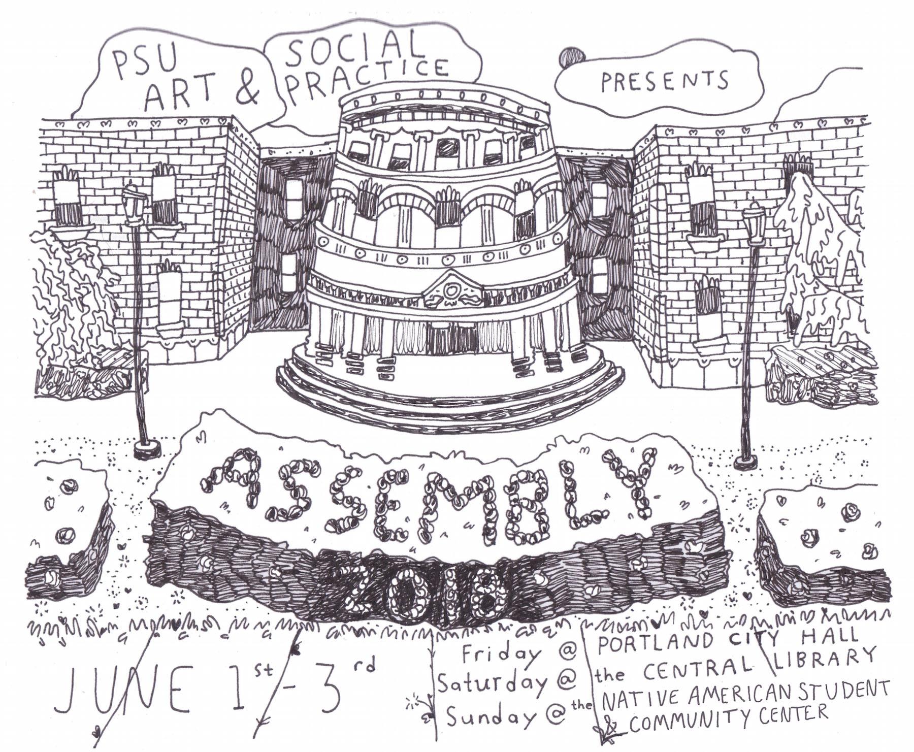 assembly psu art social practice